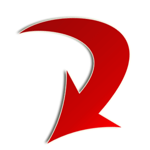 big-red-curved-down-arrow-right