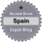 Spain silver star badge 150