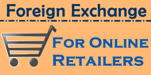Foreign exchange for businesses selling online