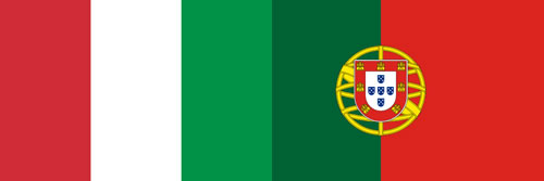 italy and portugal