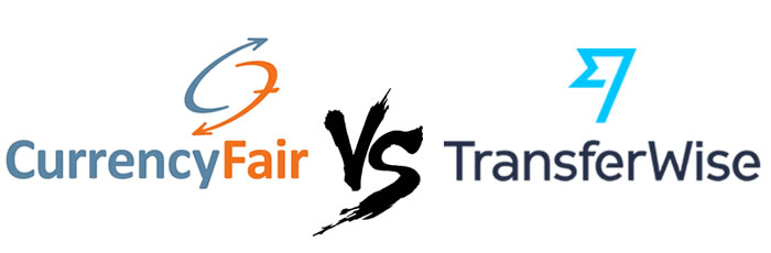 currencyfair vs transferwise logo