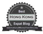 Best Hong Kong expat blog badge 150