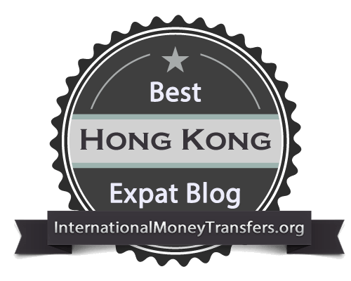 Best Hong Kong expat blog badge header