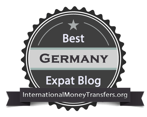 Best Germany expat blog badge header