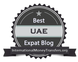 Best UAE expat blog badge 300